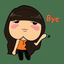 Chubby Asian Girl Sticker Pack sticker #14306135