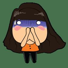 Chubby Asian Girl Sticker Pack sticker #14306145