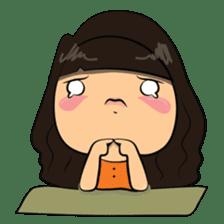 Chubby Asian Girl Sticker Pack sticker #14306146