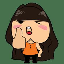 Chubby Asian Girl Sticker Pack sticker #14306148
