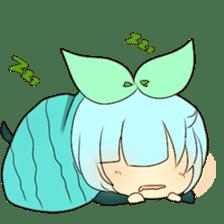 Mandrake girls sticker #14315440