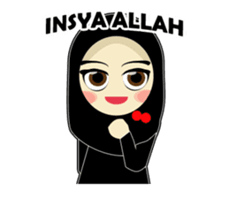 Young Muslimah : Daily Talk sticker #14327548
