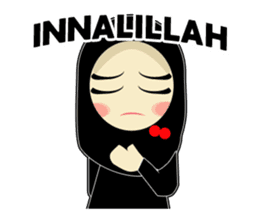 Young Muslimah : Daily Talk sticker #14327552