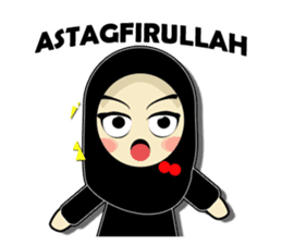 Young Muslimah : Daily Talk sticker #14327553