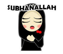Young Muslimah : Daily Talk sticker #14327555