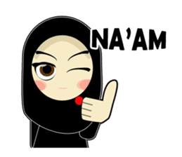 Young Muslimah : Daily Talk sticker #14327557