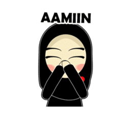 Young Muslimah : Daily Talk sticker #14327567