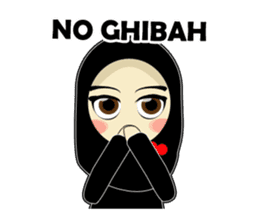 Young Muslimah : Daily Talk sticker #14327569