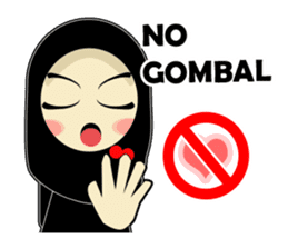 Young Muslimah : Daily Talk sticker #14327570