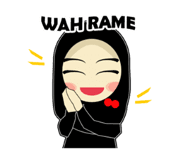 Young Muslimah : Daily Talk sticker #14327575