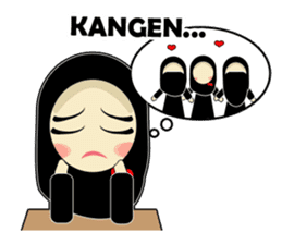 Young Muslimah : Daily Talk sticker #14327577