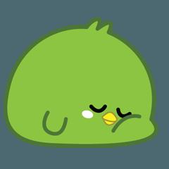 Green Chubby Chicken