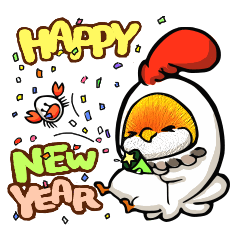 NANACHAN Special New Year Stickers