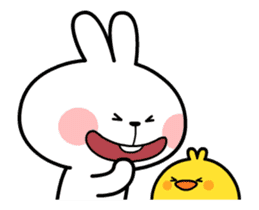 [Animation] Spoiled Rabbit sticker #14335994