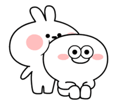 [Animation] Spoiled Rabbit sticker #14336002