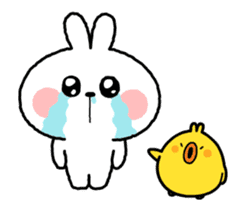 [Animation] Spoiled Rabbit sticker #14336009