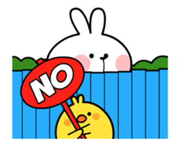 [Animation] Spoiled Rabbit sticker #14336011