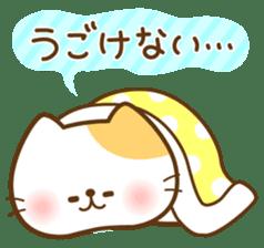 kawaii animal family-for winter- sticker #14342466