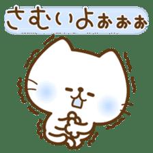kawaii animal family-for winter- sticker #14342468