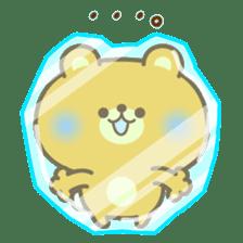 kawaii animal family-for winter- sticker #14342469