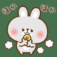 kawaii animal family-for winter- sticker #14342471