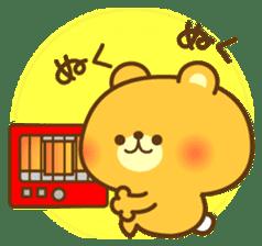 kawaii animal family-for winter- sticker #14342472