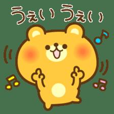 kawaii animal family-for winter- sticker #14342478