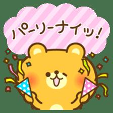 kawaii animal family-for winter- sticker #14342483