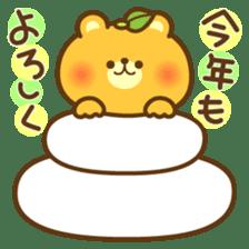 kawaii animal family-for winter- sticker #14342491