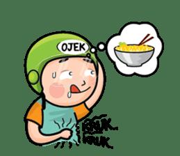 Mamat Ojek Pangkalan sticker #14342924
