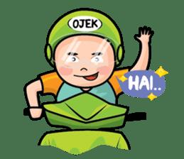 Mamat Ojek Pangkalan sticker #14342929