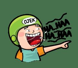 Mamat Ojek Pangkalan sticker #14342930