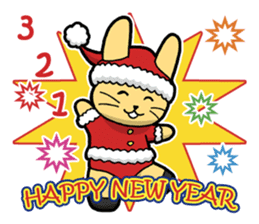 Merry Christmas & Happy New Year's ! sticker #14343782
