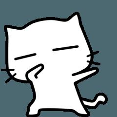 white cat ~