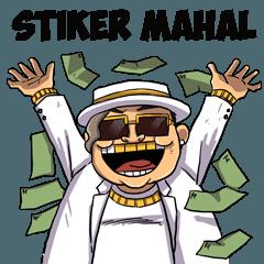 Stiker Mahal