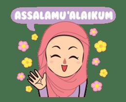 Daily Hijab: Animated sticker #14374686