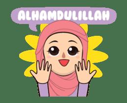 Daily Hijab: Animated sticker #14374688