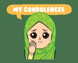 Daily Hijab: Animated sticker #14374692
