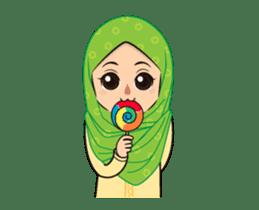 Daily Hijab: Animated sticker #14374693
