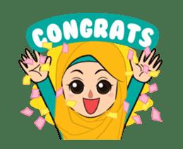 Daily Hijab: Animated sticker #14374695