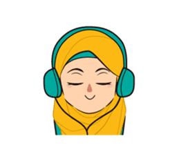Daily Hijab: Animated sticker #14374696