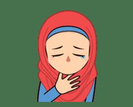 Daily Hijab: Animated sticker #14374706