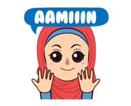 Daily Hijab: Animated sticker #14374708