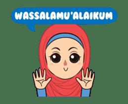 Daily Hijab: Animated sticker #14374709