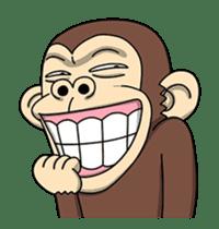 Crazy Funky Monkey3 sticker #14375714