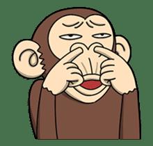 Crazy Funky Monkey3 sticker #14375715