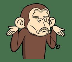 Crazy Funky Monkey3 sticker #14375719