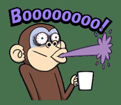 Crazy Funky Monkey3 sticker #14375729