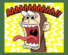 Crazy Funky Monkey3 sticker #14375730