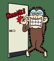 Crazy Funky Monkey3 sticker #14375731